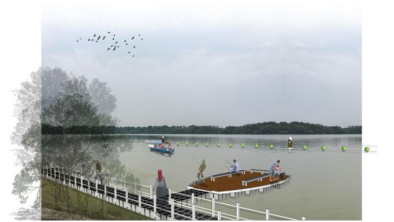 Selangor Maritine Gateway - Anglers' Deck