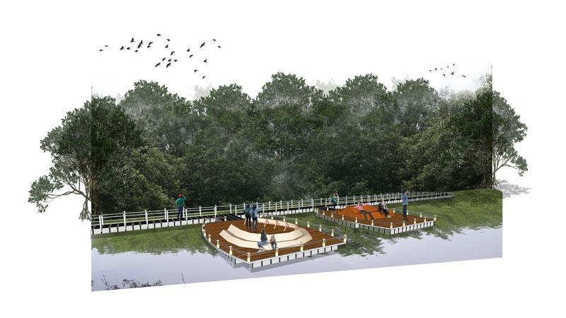 Selangor Maritine Gateway - Bird Watching Deck