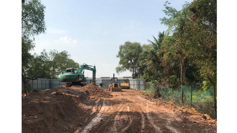 Selangor Maritime Gateway - Earthwork In Progress